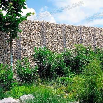 mur gabion 180x110x20cm gabion mur et cage. Black Bedroom Furniture Sets. Home Design Ideas