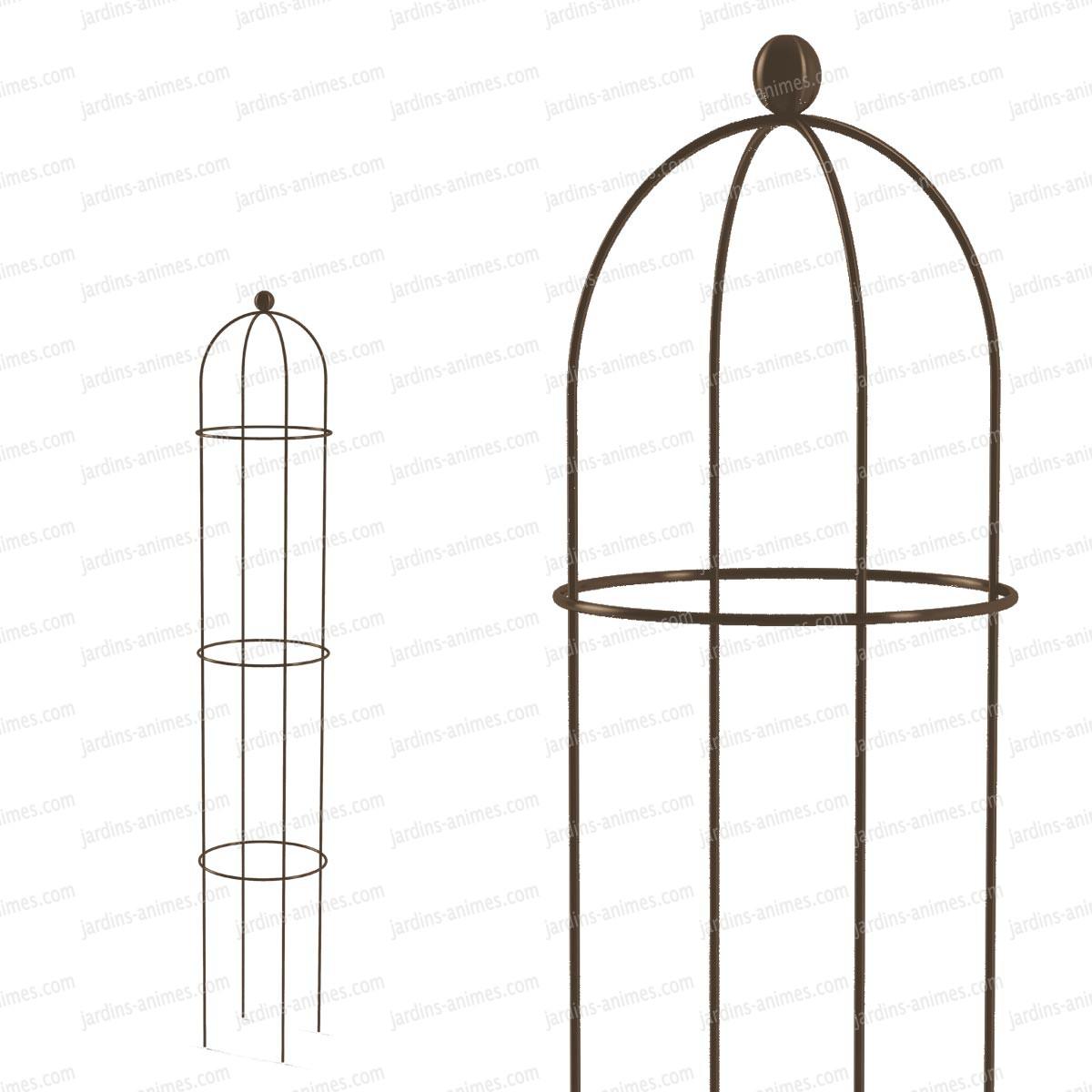 tuteur rosier ob lisque 150cm tuteurs rosiers. Black Bedroom Furniture Sets. Home Design Ideas