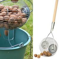 Rouleau ramasse noix, chataigne, marron et gland