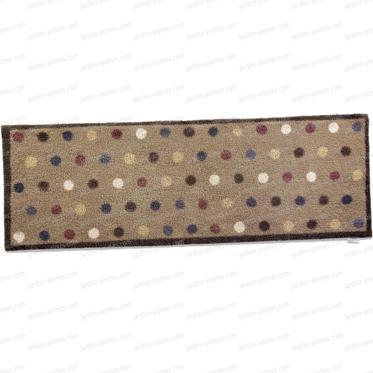 Paillasson long motif spot10 100 recycl 65x150cm for Tapis long cuisine