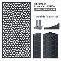 Kit supplémentaire Panneau MOSAIC vertical 1m x 2m en résine haute qualité