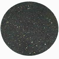 Dalle ronde caoutchouc recyclé noir 32cm diametre
