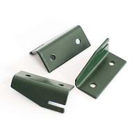 Système de fixation pour treillages acier vert