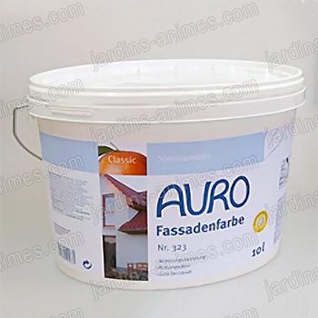 peinture bio pour facade 10l auro 323 peinture bio enduits naturels. Black Bedroom Furniture Sets. Home Design Ideas