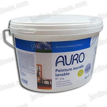Peinture bio murale lavable 10l auro 324 peinture bio for Peinture acrylique murale lavable