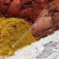Pigment minéral nacré