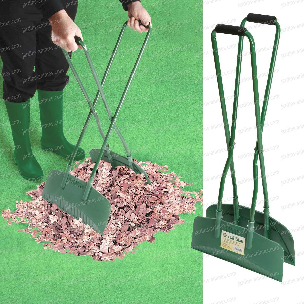 pince feuilles long manche outil entretien de la pelouse. Black Bedroom Furniture Sets. Home Design Ideas