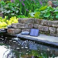 Pompe d'aération solaire pour bassin