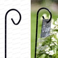 Porte étiquette ardoise 150cm x10
