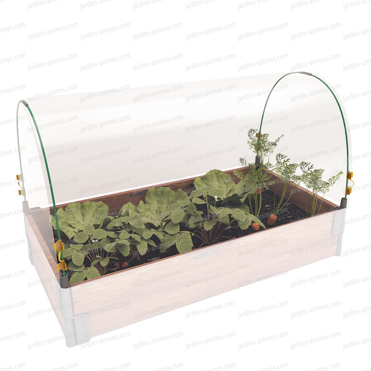 Bache de protection 100x50cm potager jura carr potager - Bache de protection jardin ...