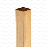 Poteau en Pin. bois FSC 7x7x180cm Classe 3