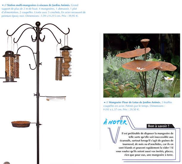 Jardins anim s revue de presse 2012 - Magazine maison et jardin ...