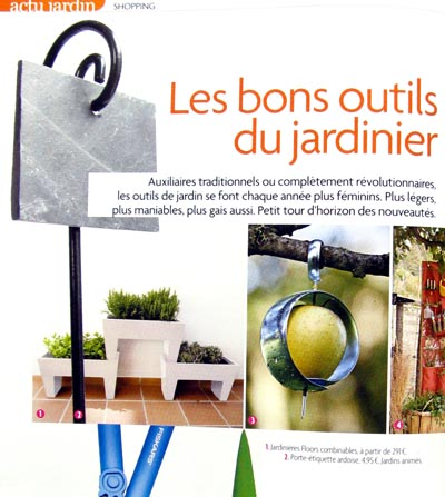 jardins animes revue de presse 2009. Black Bedroom Furniture Sets. Home Design Ideas