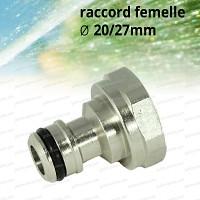 Raccord adaptateur femelle 20/27mm