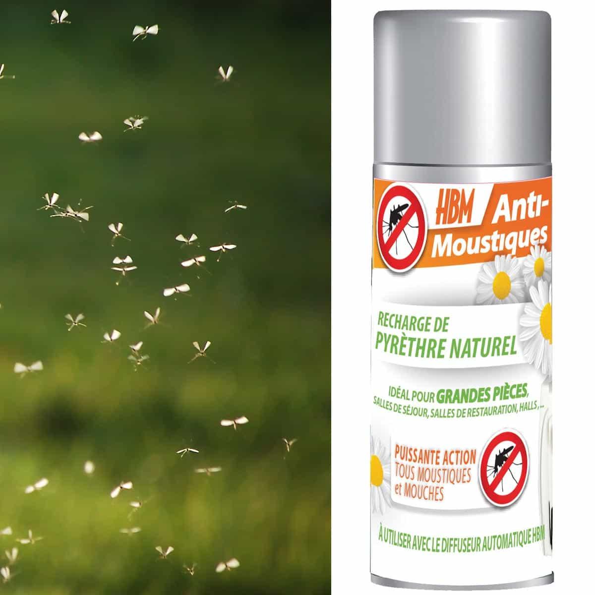 recharge pyr thre diffuseur anti moustiques int rieur 150ml traitement anti guepe et moustiques. Black Bedroom Furniture Sets. Home Design Ideas