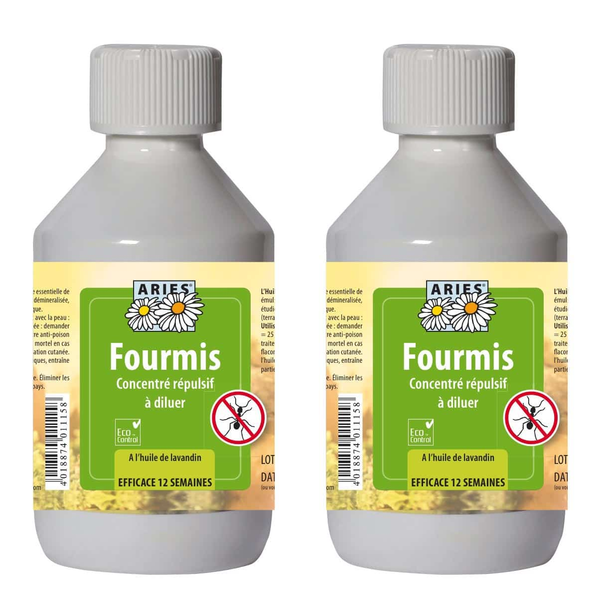 anti fourmis r pulsif naturel concentr 250ml lot de 2 traitement anti insectes et souris. Black Bedroom Furniture Sets. Home Design Ideas