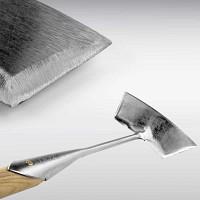 Sarcloir à pousser 15cm inox manche bois Sneeboer