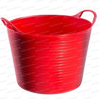 Baquet coloré Rouge 14L