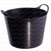 Baquet coloré Noir 26L
