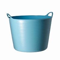 Seau souple de jardin - Bleu ciel 26L