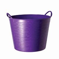Seau souple de jardin - Violet 26L