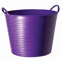 Seau souple de jardin - Violet 38L