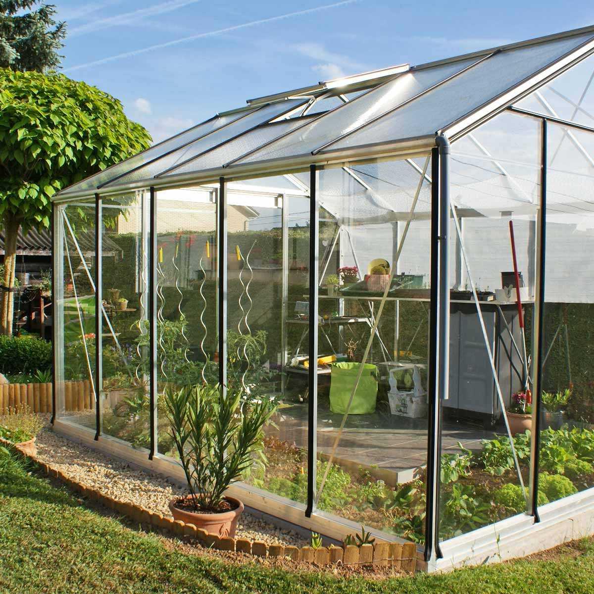 Serre de jardin Prestige 11.35m2 R305H - Serre Jardin