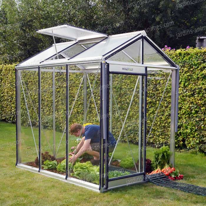 serre prestige piccolo alu 3.56m2 - serre jardin