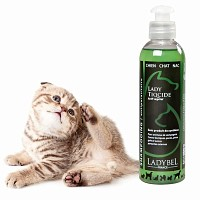 Shampoing insectifuge LadyTiqcide chien, chat, NAC, 200ml