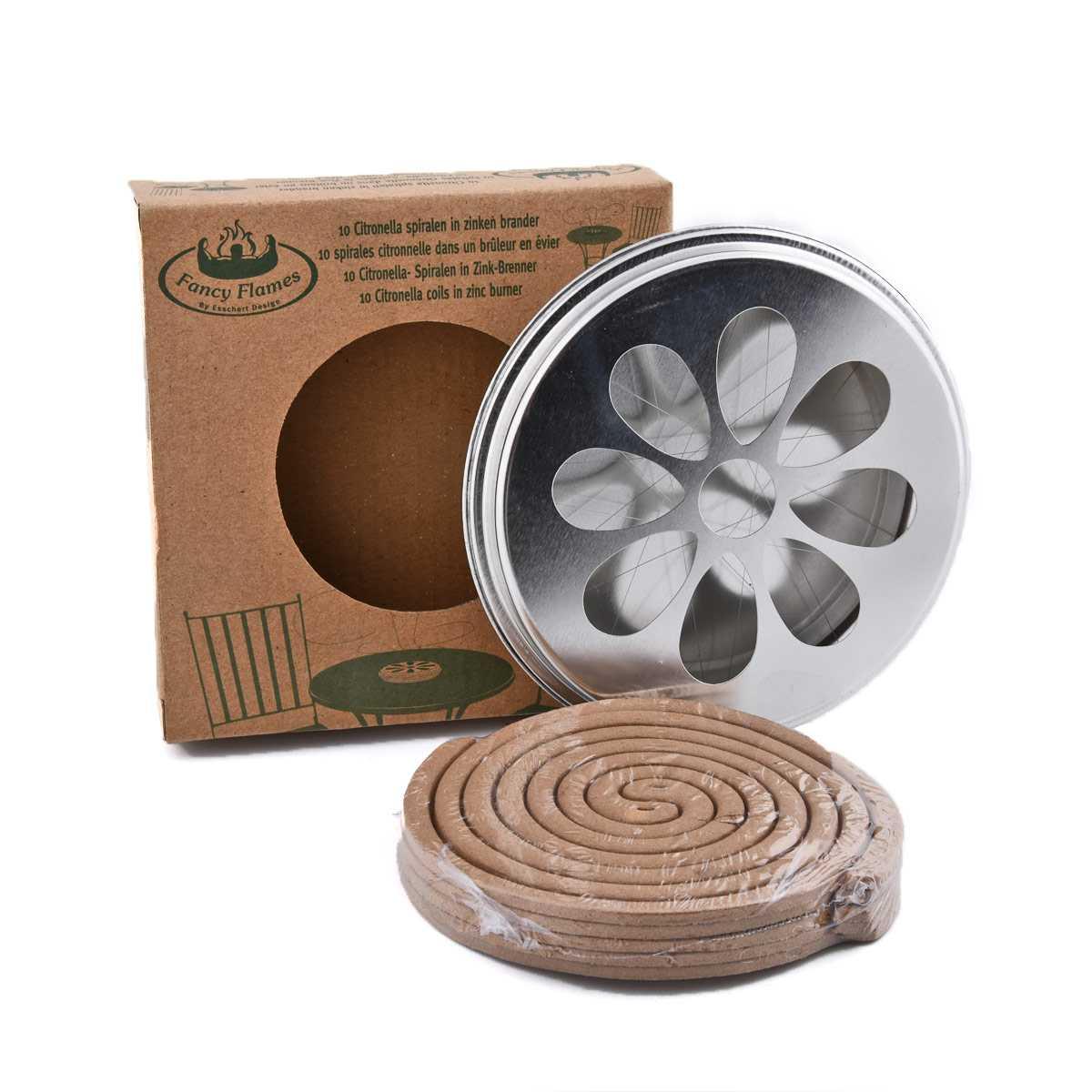 anti moustiques spirales citronnelle x10 traitement anti. Black Bedroom Furniture Sets. Home Design Ideas