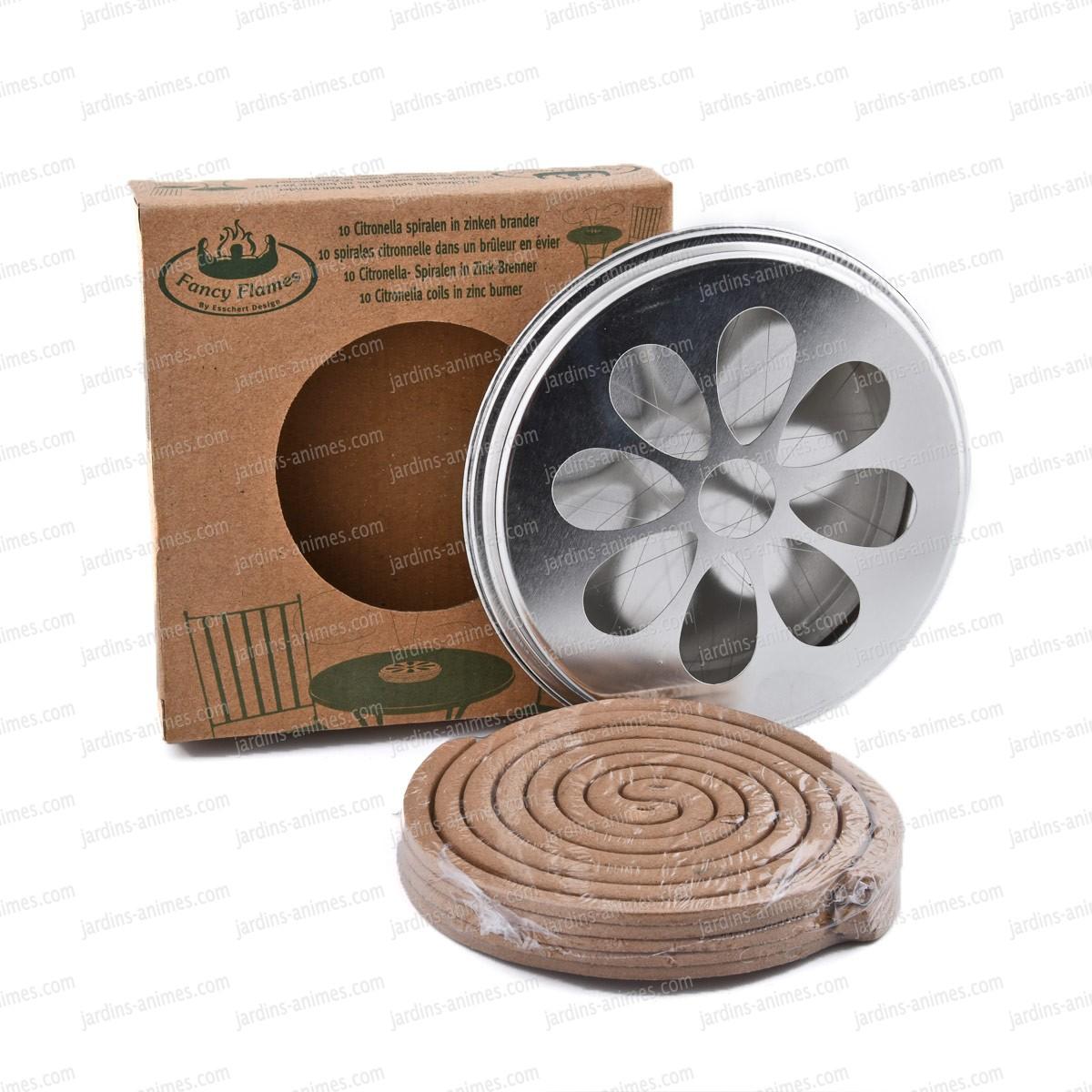 anti moustiques spirales citronnelle x10 traitement anti guepe et moustiques. Black Bedroom Furniture Sets. Home Design Ideas