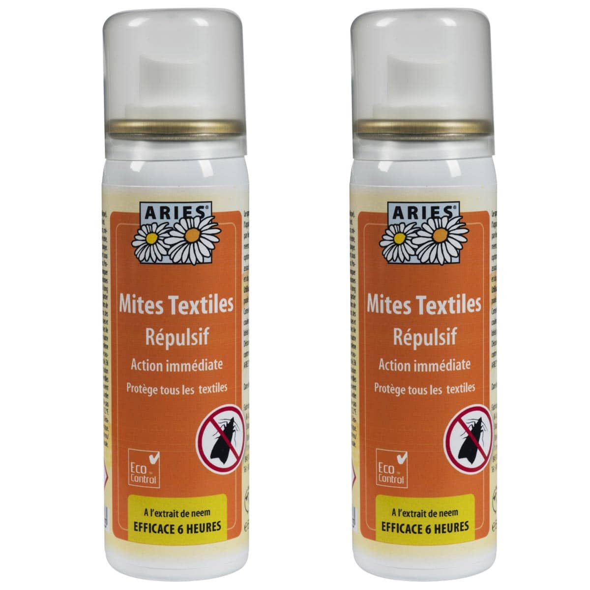 anti mites textiles spray 50ml lot de 2 traitement anti mites. Black Bedroom Furniture Sets. Home Design Ideas