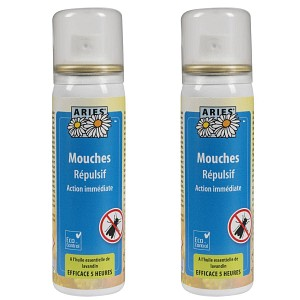 Anti mouche Spray naturel 50ml Lot de 2