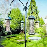Multi station alimentation oiseaux