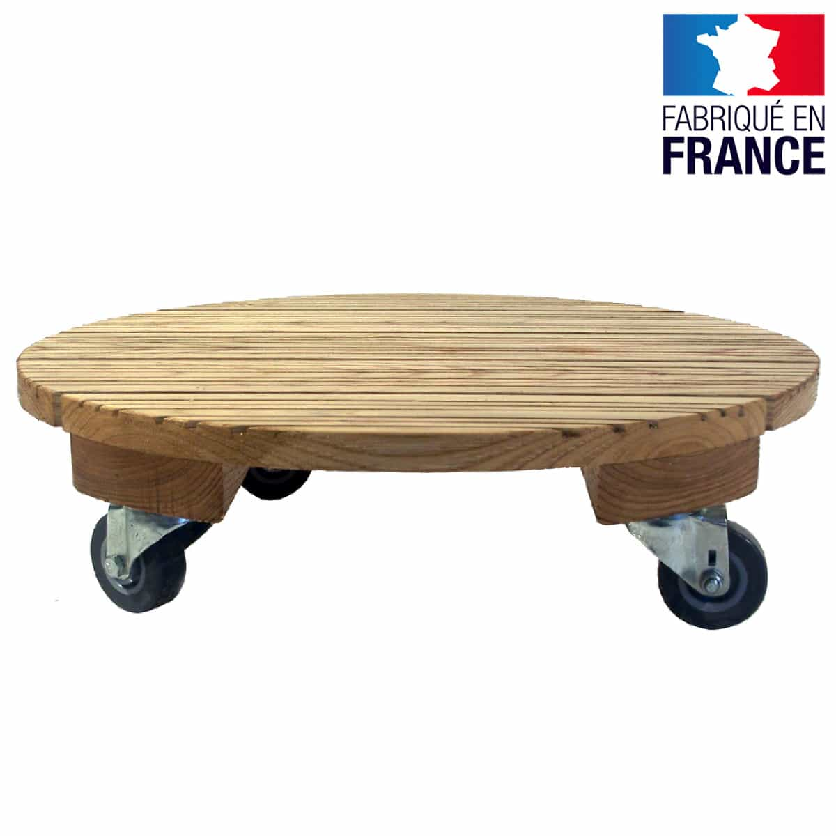 Pot Plante En Bois support plante roulette : item specifics