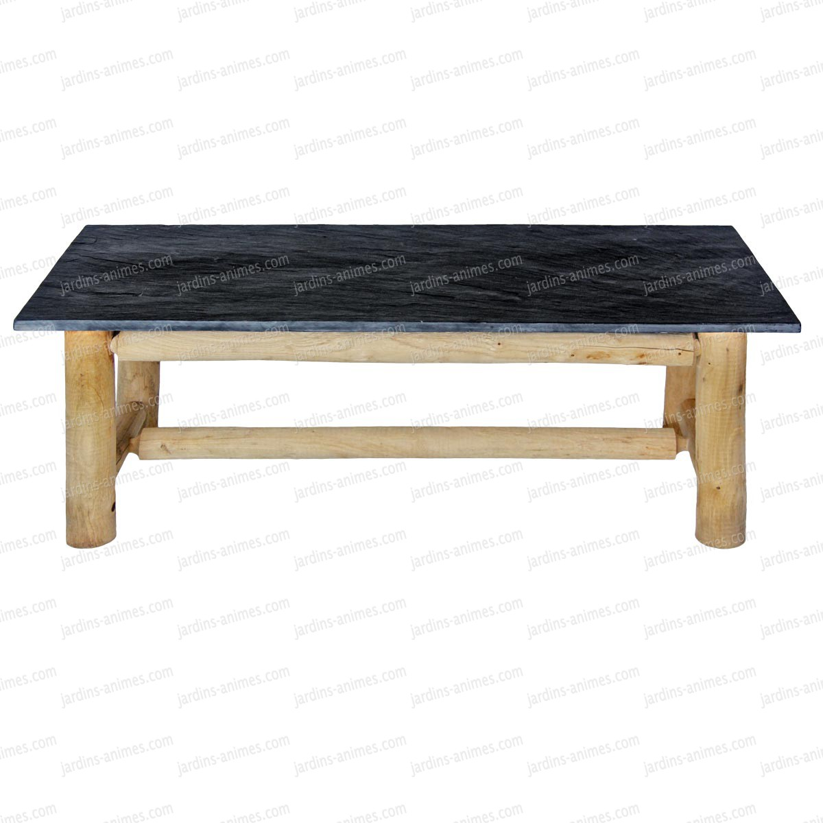table basse en ardoise 120cmx50cm x mobilier. Black Bedroom Furniture Sets. Home Design Ideas