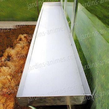 table pour plantes 217 x 42cm serre jardin. Black Bedroom Furniture Sets. Home Design Ideas
