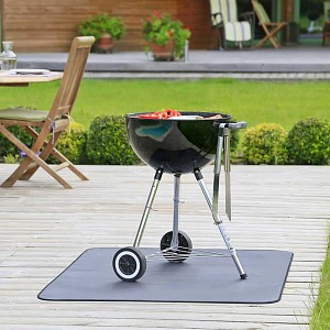 Tapis de protection de sols Plancha et Barbecue