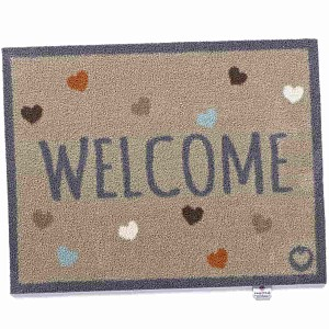 Paillasson Welcome 100% recyclé 65x85cm