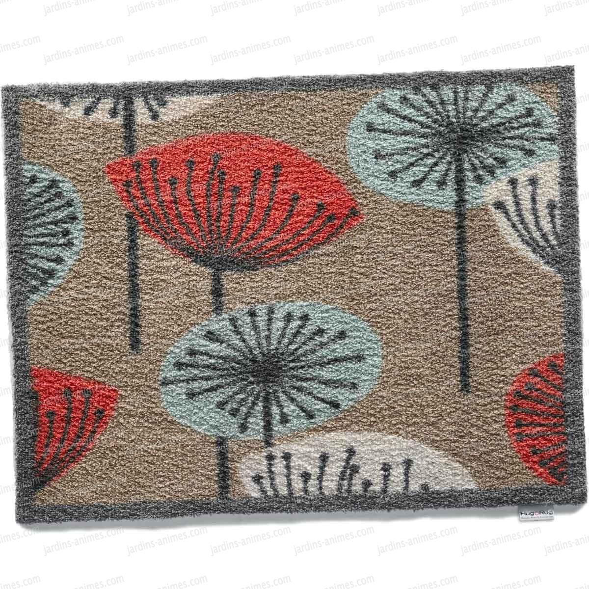 paillasson motif nature11 100 recycl 65x85cm paillasson nettoie bottes. Black Bedroom Furniture Sets. Home Design Ideas
