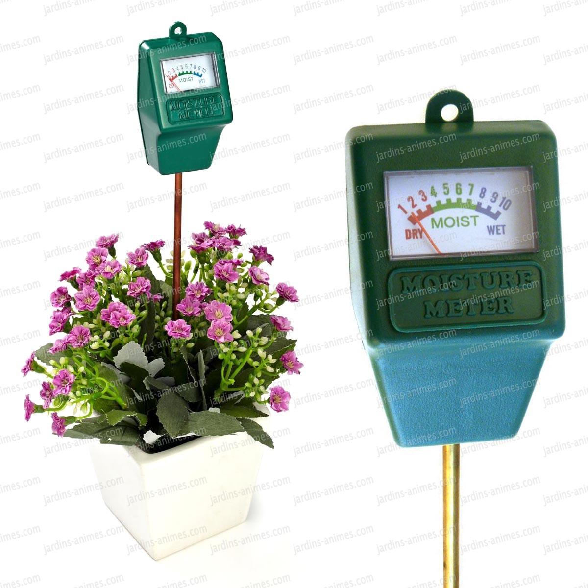 testeur d 39 humidit pour plante instruments de mesure. Black Bedroom Furniture Sets. Home Design Ideas
