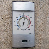 Thermomètre d'exterieur mini maxi
