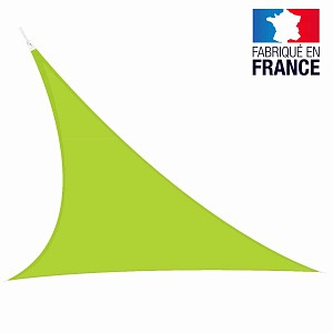 Voile triangulaire extensible Easy Sail 5m x 5m x 5m VERT ANIS