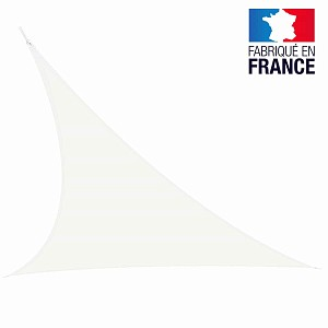 Voile triangulaire extensible Easy Sail 5m x 5m x 5m BLANC