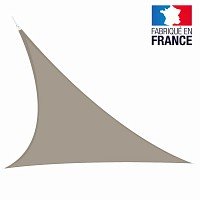 Voile triangulaire extensible Easy Sail 5m x 5m x 5m TAUPE
