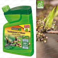 Traitement dhiver huile 1L anti acarien puceron cochenille