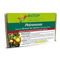 Phéromone contre la mineuse des agrumes - 3 mois (2 capsules)