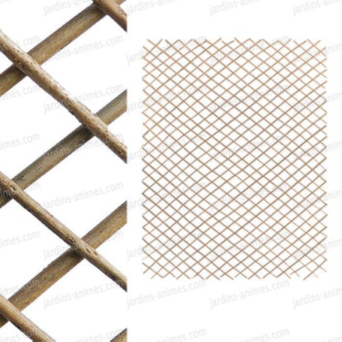 treillage en bois acacia 100x180cm treillages support grimpantes. Black Bedroom Furniture Sets. Home Design Ideas