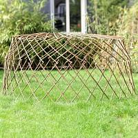 Treillis de protection en bois acacia 180cm
