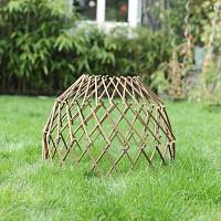 Treillis de protection en bois acacia 64cm
